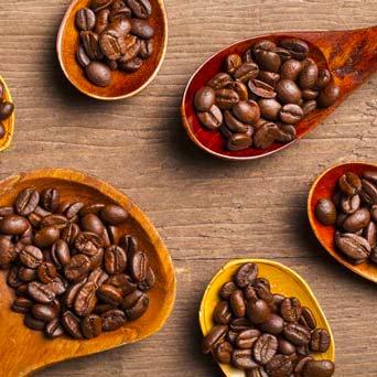 Carta dei caffè - Ristorante 20 Posti