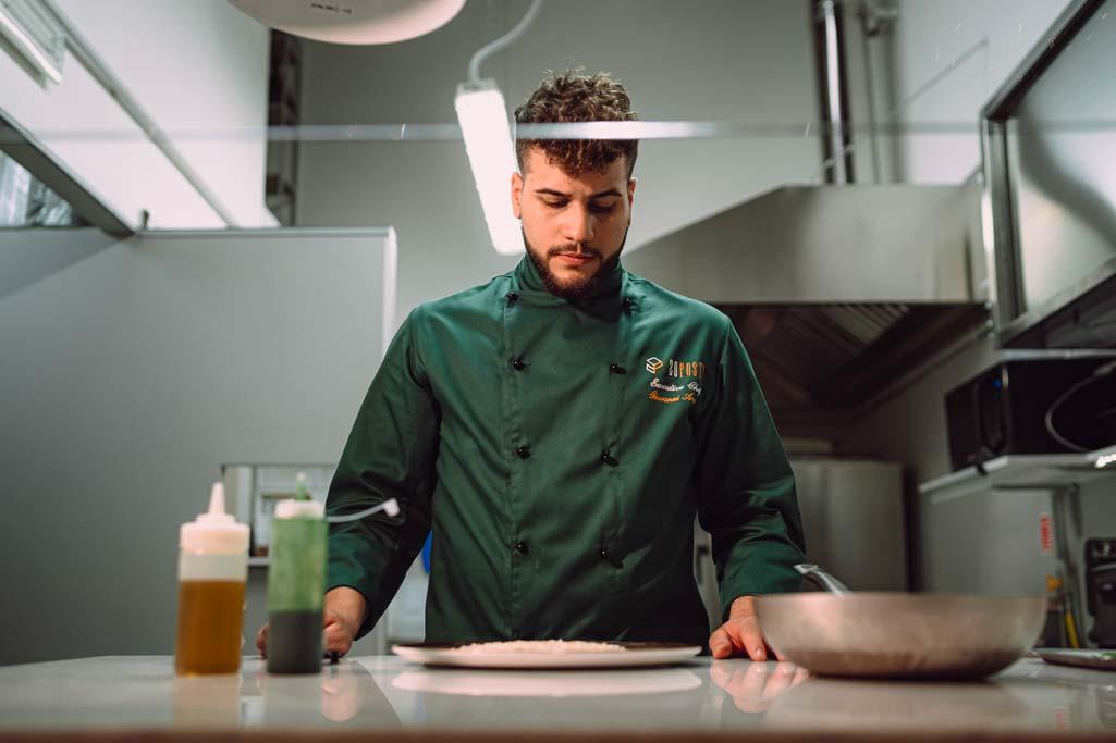 Lo chef Giovanni Avano