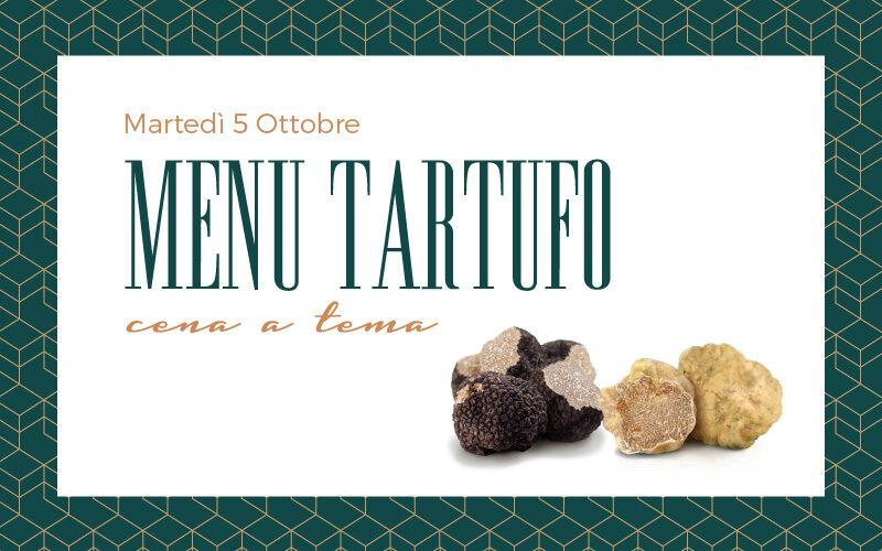 Menù Tartufo – Martedì 5 Ottobre
