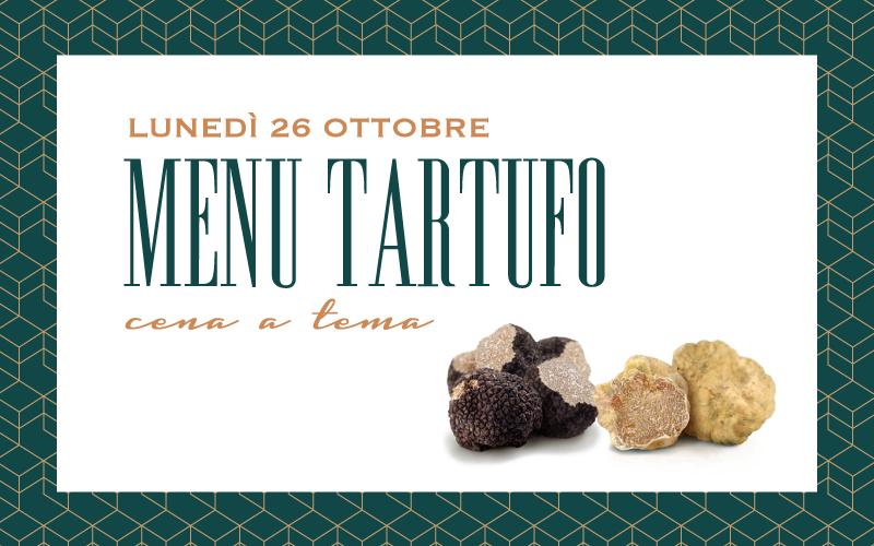 Menù Tartufo Lunedì 26 Ottobre